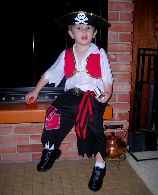 Ben, Pirate