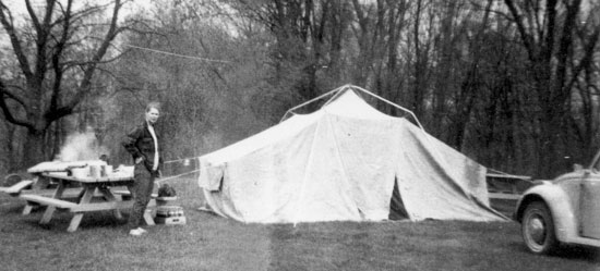 Cobbled Together Tent