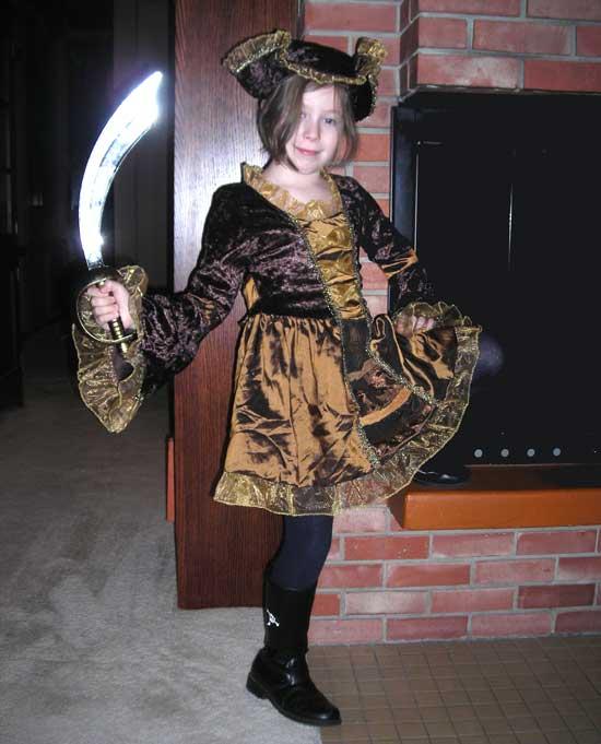 Rachel, the Pirate Captain